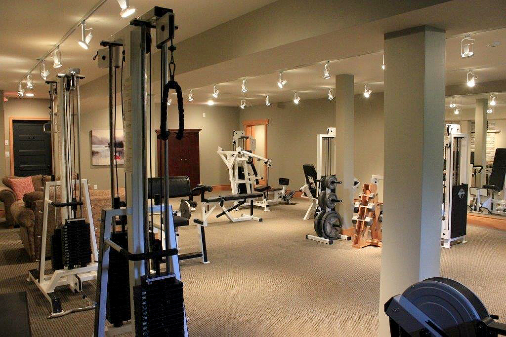 Gym in Main Lodge