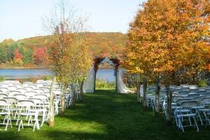 Outdoor Weddings at Trillium