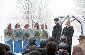 Trillium Resort and Spa; Muskoka Ontario - Winter Weddings